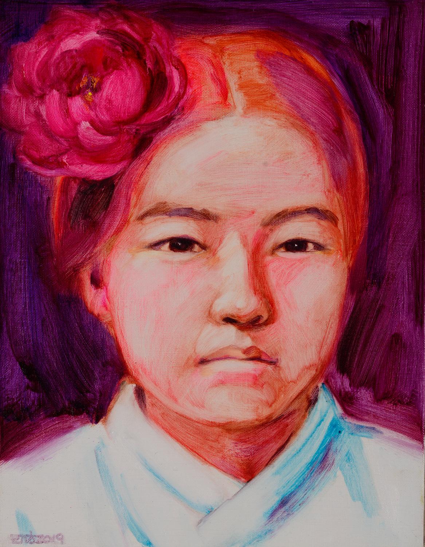 나혜석41x31.8cm, oil on canvas, 2019