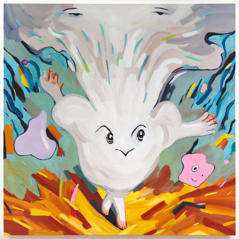 새로움의 탄생, 130.3x130.3(cm), Oil on canvas, 2019